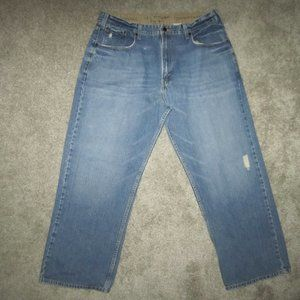 Levi's Loose Straight Distressed Jeans 38 X 28